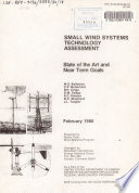 Small Wind Systems Technology Assessment Book