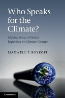 Who Speaks for the Climate?