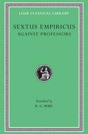 Sextus Empiricus: Against the professors