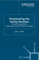 Perpetuating the Family Business