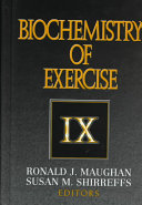 Biochemistry of Exercise IX