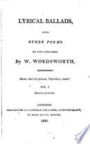 Lyrical Ballads,