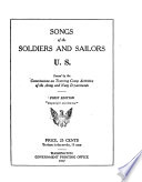 Songs of the Soldiers and Sailors  U S
