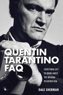 Quentin Tarantino FAQ
