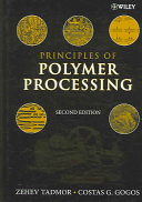 Principles of Polymer Processing Book
