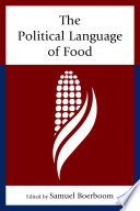 The Political Language of Food Book
