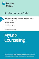 Mylab Counseling With Pearson Etext   Access Card   for Learning the Art of Helping