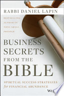 Business Secrets From The Bible Book PDF