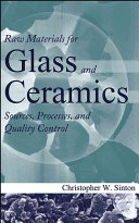 Raw Materials for Glass and Ceramics