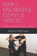 Kenpo Knowledge, Essays & Articles