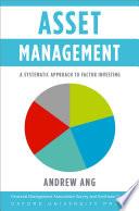 Asset Management Book PDF