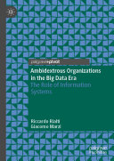 Ambidextrous Organizations in the Big Data Era [Pdf/ePub] eBook
