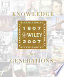 Knowledge for Generations