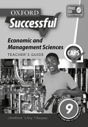Books - Oxford Successful Economic & Management Sciences Grade 9 Teachers Guide | ISBN 9780199049721