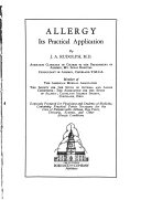 Allergy, Its Practical Application
