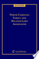 North Carolina Family and Related Laws Annotated