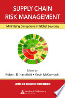 Supply Chain Risk Management Book