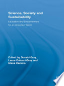 Science, Society and Sustainability