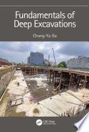Fundamentals of Deep Excavations