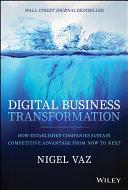 Digital Business Transformation Pdf/ePub eBook