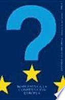 Respuestas a la Constitución Europea