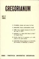Pdf Gregorium: Vol.62 Telecharger