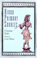 Hindu Primary Sources ebook