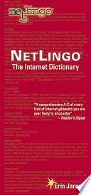 """NetLingo: The Internet Dictionary"" by Erin Jansen, Vincent James"