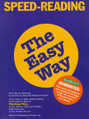 Speed Reading the Easy Way ebook