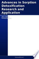 Advances in Sorption Detoxification Research and Application: 2011 Edition