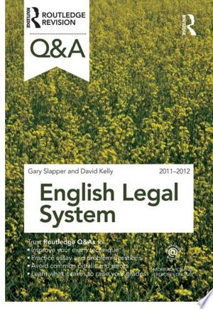 Download Q&A English Legal System 2011-2012 Free Books - Dlebooks.net