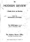 The Modern Review