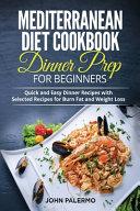 Mediterranean Diet Cookbook Dinner Prep for Beginners