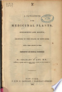 A Catalogue of the Medicinal Plants Book