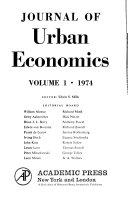 Journal of urban economics - Google Books