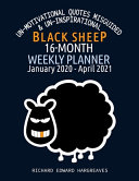 Black Sheep 16 Month 2020-2021 Weekly Planner