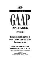 Miller GAAP Implementation Manual