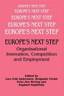 Europe's Next Step Pdf/ePub eBook