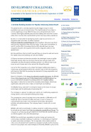 Development Challenges, South-South Solutions: October 2012 Issue