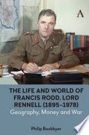 The Life And World Of Francis Rodd Lord Rennell 1895 1978