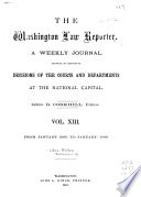 The Washington Law Reporter