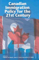 Canadian Immigration Policy for the 21st Century