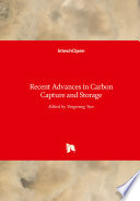 Recent Advances in Carbon Capture and Storage Book