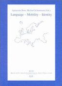 Language   Mobility   Identity