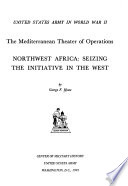 Northwest Africa  Seizing the Initiative in the West Book