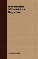 Fundamentals of Electricity   Magnetism