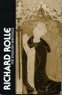 Richard Rolle, the English Writings