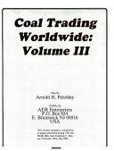 Coal Trading Worldwide Book
