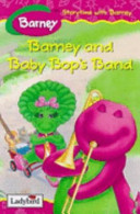Barney and Baby Bop's Band banner backdrop