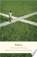 link to Ethics : the essential writings in the TCC library catalog